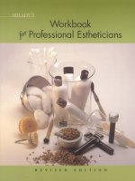 Milady's Textbook of Professional Estheticians Workbook