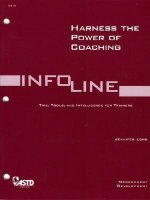 Harness the Power of Coaching