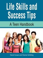 Life Skills and Success Tips, a Teen Handbook