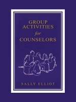 Group Activities for Counselors