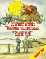 Cowboy Night Before Christmas Coloring Book