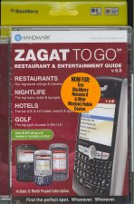 Zagat to Go Restaurant & Entertainment Guide v 6.0