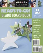 Ready-To-Go! 3-D Star Blank Board Book