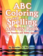 ABC Coloring & Spelling Activity Book