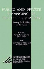 Public and Private Financing of Higher Education: Shaping Public Policy for the Future