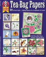 Tea-Bag Papers: 20 of Each Style...Folding Squares for Scrapbooks & Cards!