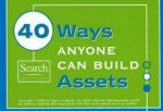40 Ways Anyone Can Build Assets (Pack of 15)