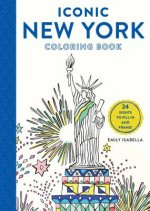 Iconic New York Coloring Book: 24 Sights to Fill in and Frame