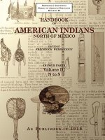 Handbook of American Indians North of Mexico V. 3/4