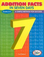 Addition Facts in Seven Days, Grades 2-4: A Simple Method for Success