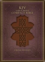 Large Print Compact Bible-KJV-Cross Design