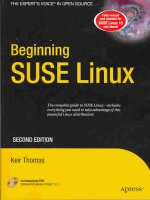 Beginning SUSE Linux [With DVD-ROM]