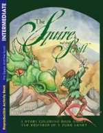 The Squire and the Scroll: Coloring Book