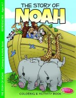 The Story of Noah: Coloring and Activity Book for Ages 4-7 (Pk of 6)