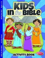 Kids in the Bible: Activity Book for Ages 6-10 (Pk of 6)