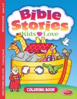 Bible Stories Kids Love: Coloring Book for Ages 2-4 (Pack of 6)