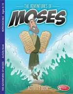 Adventures of Moses: Activity Book for Ages 8-10 (Pack of 6)\