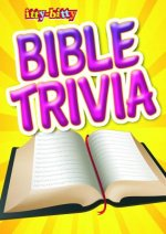 Ittybitty Bible Trivia: Ittybitty Activity Book for Ages 5-10 (Pk of 6)