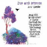 Live with Intention Calendar