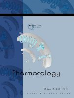 Quick Look: Pharmacology