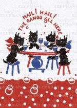 Scottie Dogs' Party - Celebration Greeting Card