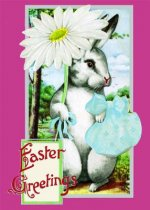 Easter with Daisy Blank Easter Card [With 6 Envelopes]