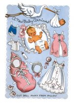 Layette Baby Card [With 6 Envelopes]