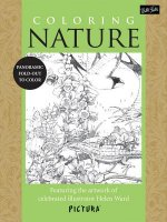 Coloring Nature: Featuring the Artwork of Celebrated Illustrator Helen Ward