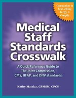 Medical Staff Standards Crosswalk: A Quick Reference Guide to the Joint Commission, CMS, Hfap, and Dnv Standards