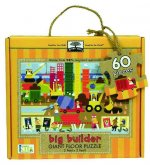 Green Start Giant Floor Puzzle: Big Builder (60 Piece Floor Puzzles Made of 98% Recycled Materials)