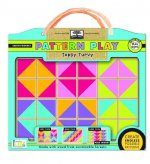 Green Start Pattern Play Wooden Puzzles: Topsy Turvy (Mix and Match Mosiac Puzzles)