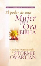 Biblia el Poder de una Mujer Que Ora-NVI: Oraciones y Ayudas de Estudio de Stormie Omartian = Power of a Praying Woman Bible-NVI