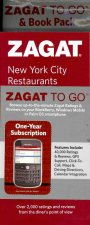 Zagat to Go: New York City Restaurants [With Foldout Map and Zagat Web Access]
