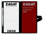 Zagat America's Top Restaurants Dining Journal [With Leather Carrying Case and Pen and Note Pad]