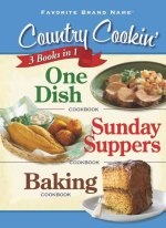 Country Cookin': One Dish Cookbook/Sunday Suppers Cookbook/Baking Cookbook