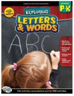 Letters & Words, Grades P-K [With Poster]