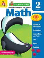 At-Home Tutor Math, Grade 2