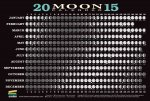 2015 Moon Calendar Card (20 Pack): Lunar Phases, Eclipses, and More!