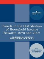 Trends in the Distribution of Household Income Between 1979 and 2007 - A Congressional Report on Income Inequality in the U.S.