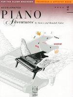 Accelerated Piano Adventures, Book 2, Technique & Artistry Book: For the Older Beginner