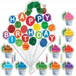 The Very Hungry Caterpillar(tm) Birthday Bulletin Board Set