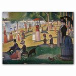 Georges Seurat Notecard Box Museum Quality Stationery Set in Glossy Two-Piece Box