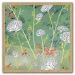 Fresh Blooms Greengift-Notes Mini Boxed Notecards