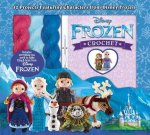 Disney Frozen Crochet: 12 Projects Featuring Characters from Disney Frozen