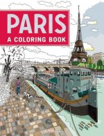 Paris: A Coloring Book