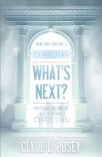 Now That You Are a Christian, What's Next?