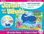 Jonah & the Whale Giant Floor Puzzle & CD