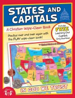 States and Capitals Christian Wipe-Clean Workbook