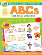 Trace and Learn Sticker Fun: ABCs: Wipe-Clean Workbook