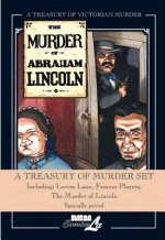 A Treasury of Murder Hardcover Set: Including Lovers Lane, Famous Players, the Murder of Lincoln